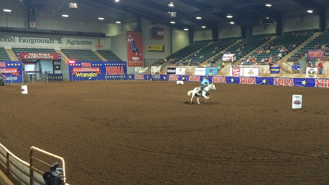 BARREL RACING ARENA
